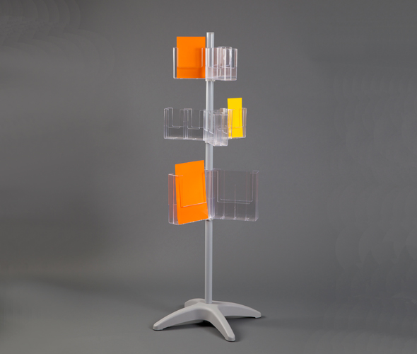 A4, A5 & 1/3rd A4 Floor Standing Dispenser Carousel Product Image
