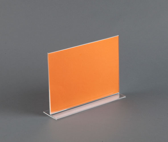 Straight Sign Holder - Acrylic Product Image