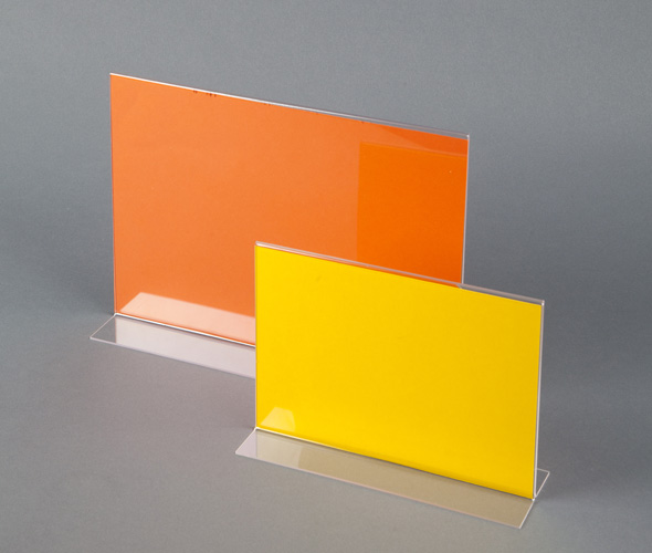 Straight Sign Holder - Styrene Product Image